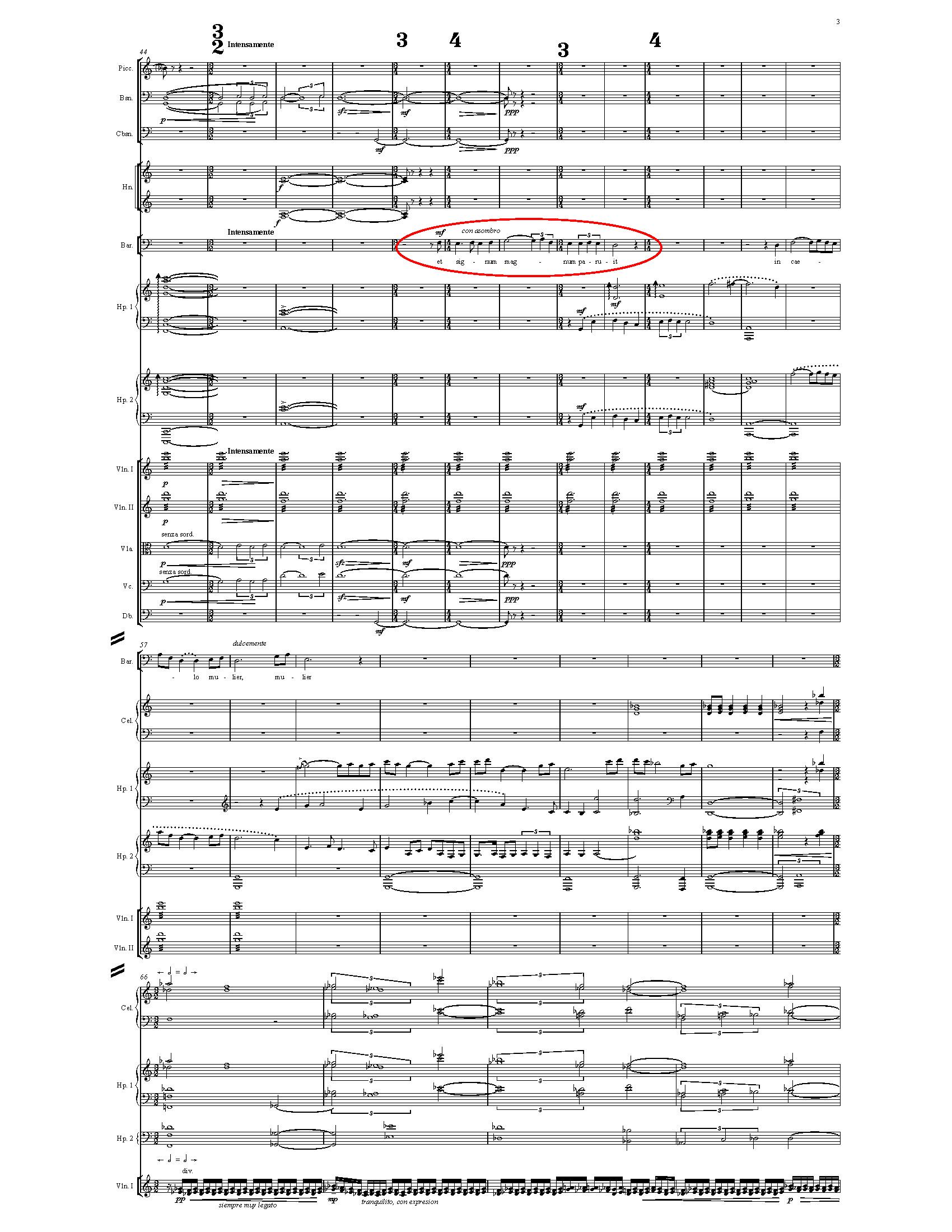 """""""Una gran señal apareció en el cielo"""", Ap. 12.1 (Oratorio Apocalypsis Iesu - Juscheld)"""